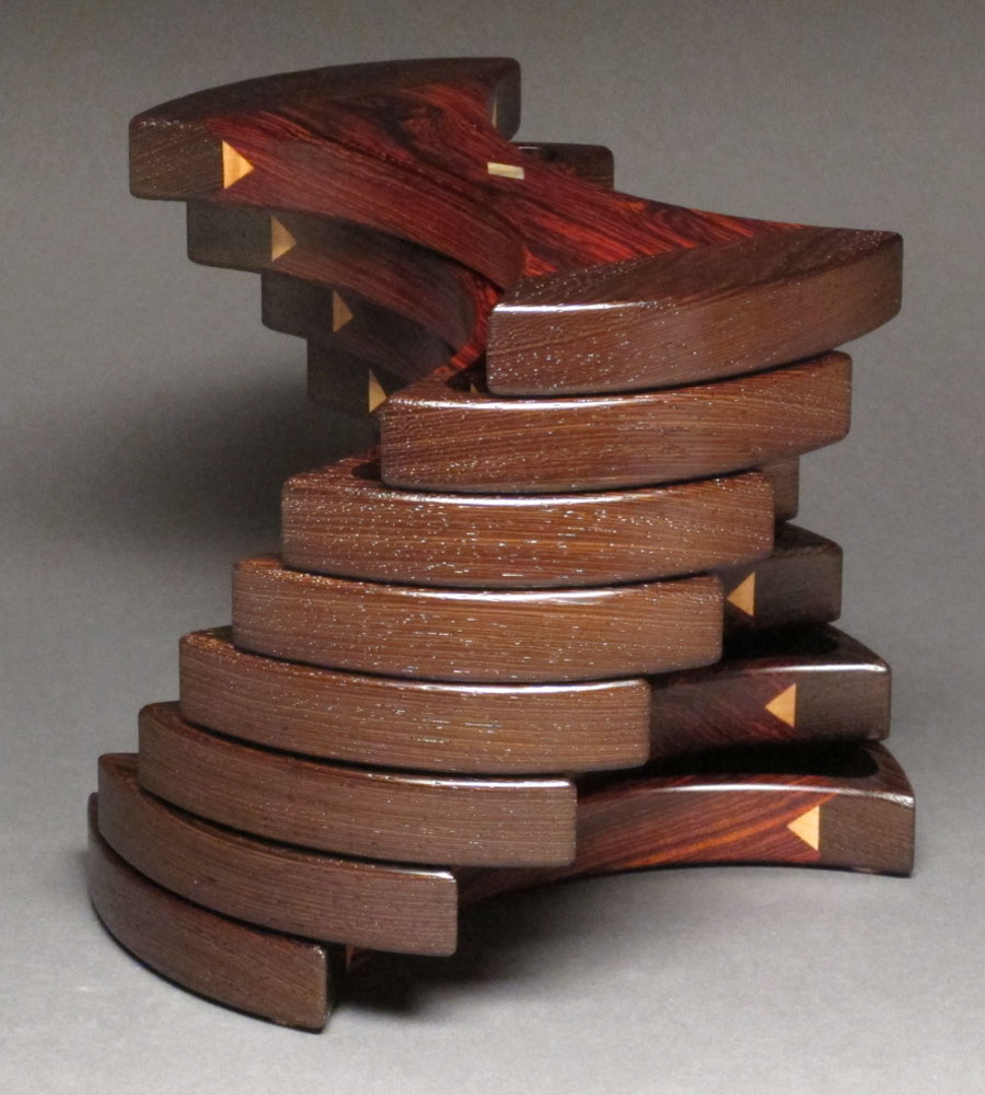 Helical Box Watson Woodworks Sculptural Jewelry Boxes 8886791840